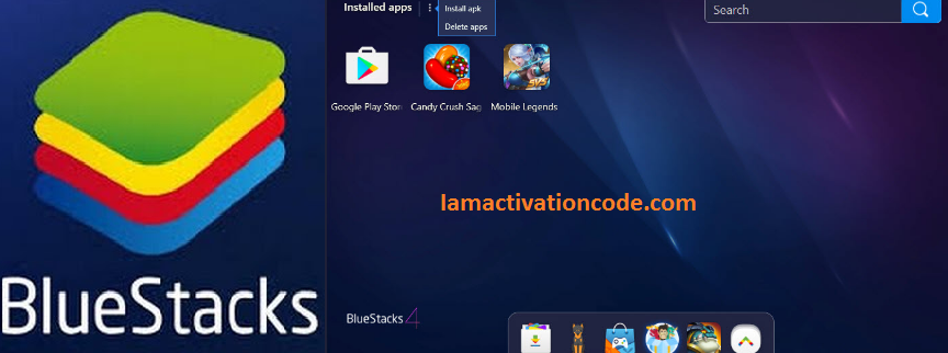 BlueStacks Serial key