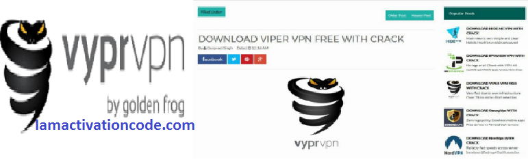 VyprVPN Serial Key